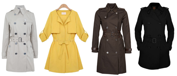 fashion british trench Moda British, la tendencia más actual