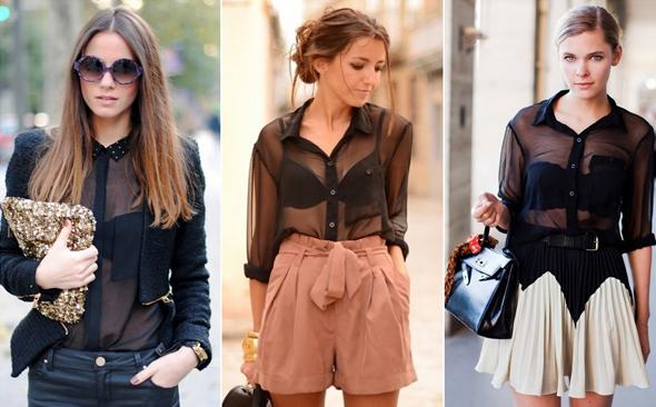 camisas transparentes low cost LOW COST: ¡Ten un enero de moda!